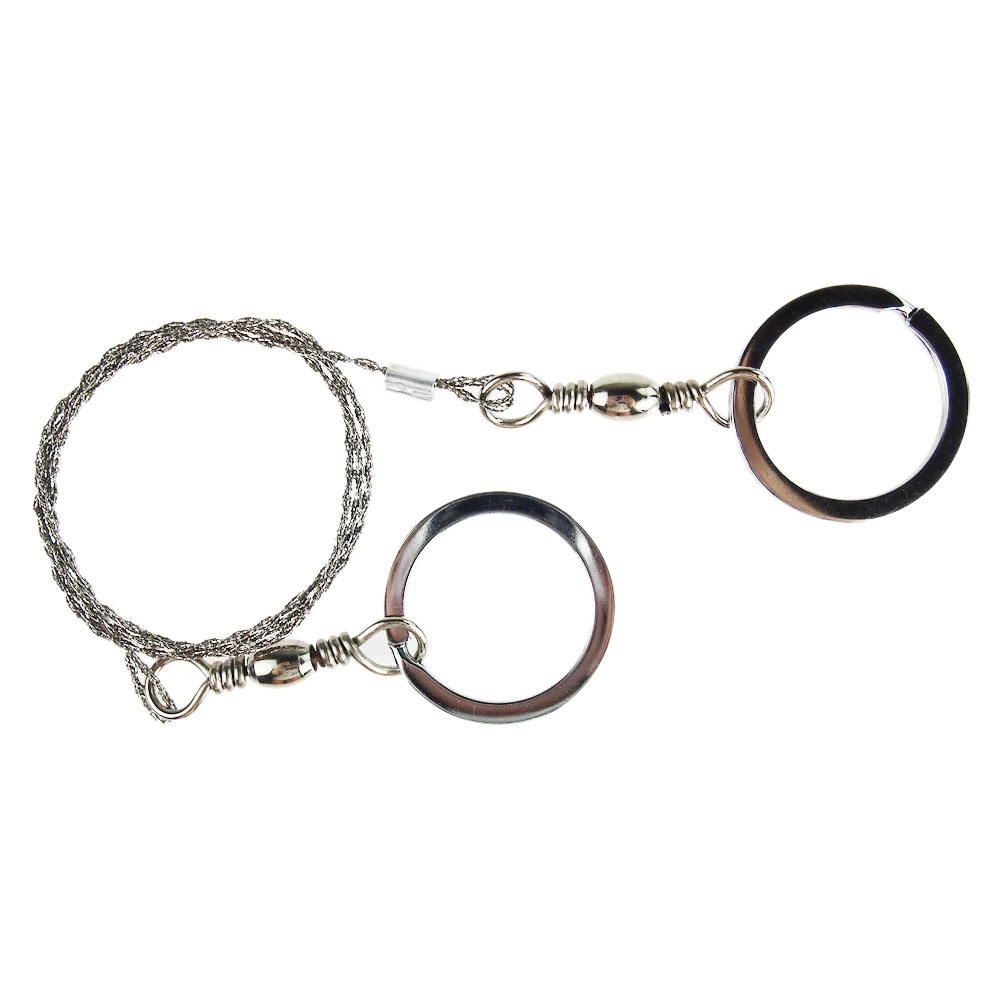 2pcs/Lot Field Rescue Saw Cutter Ring Steel Wire Saw