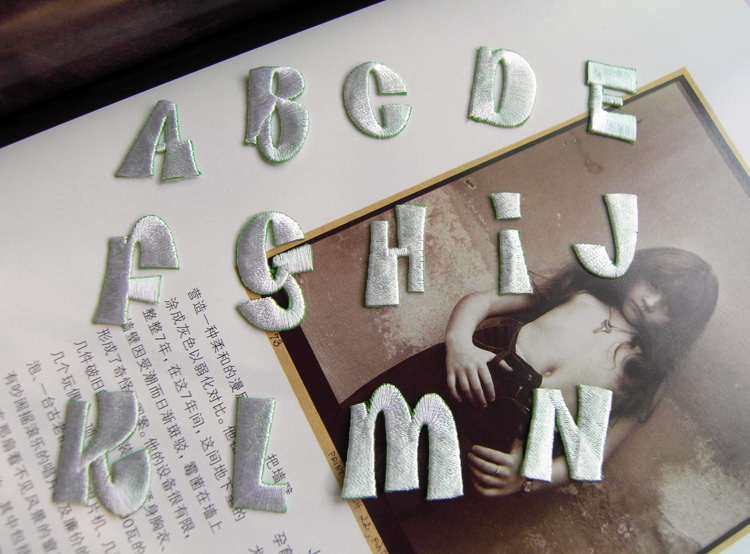 ad1956a5b projeto carta 26 carta disponível30 pçs lote mix (ou você pode fazer a  anotação para a quantidade de acarta que você quiser)cor branca