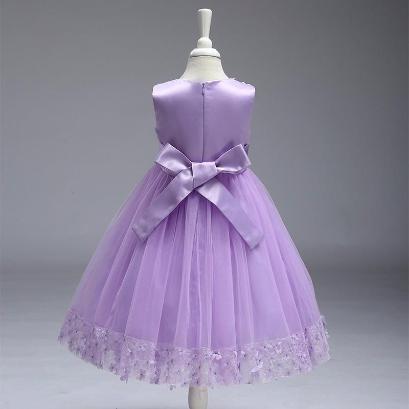 Al por menor muchacha de los niños vestido de fiesta 2018 nuevo ...