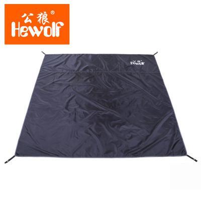 Vert bâche PE Couvercle Étanche Tente Bâche De Sol Feuille Camping Tapis de sol