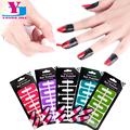 5pcs Lot Creative New U Shape Peel Off Tape Finger Sticker Cover Polish UV Gel Protectors