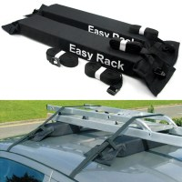 Universal Auto Soft Car Roof Rack Outdoor Rooftop Luggage ...