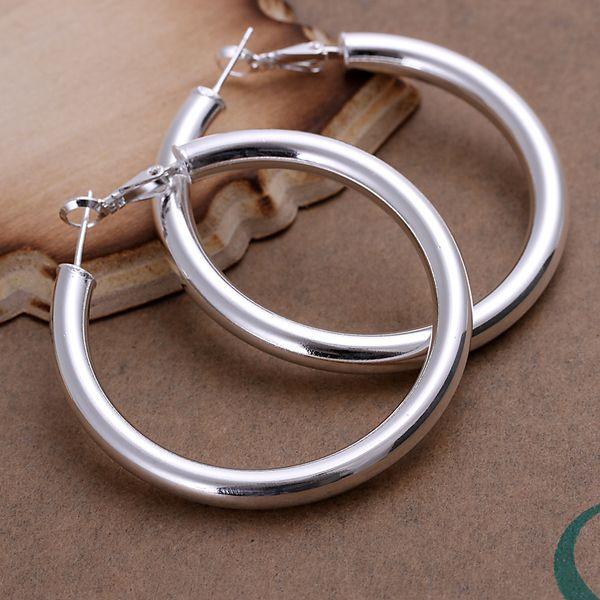 Wholesale Factory Price hoop earrings silver sterling