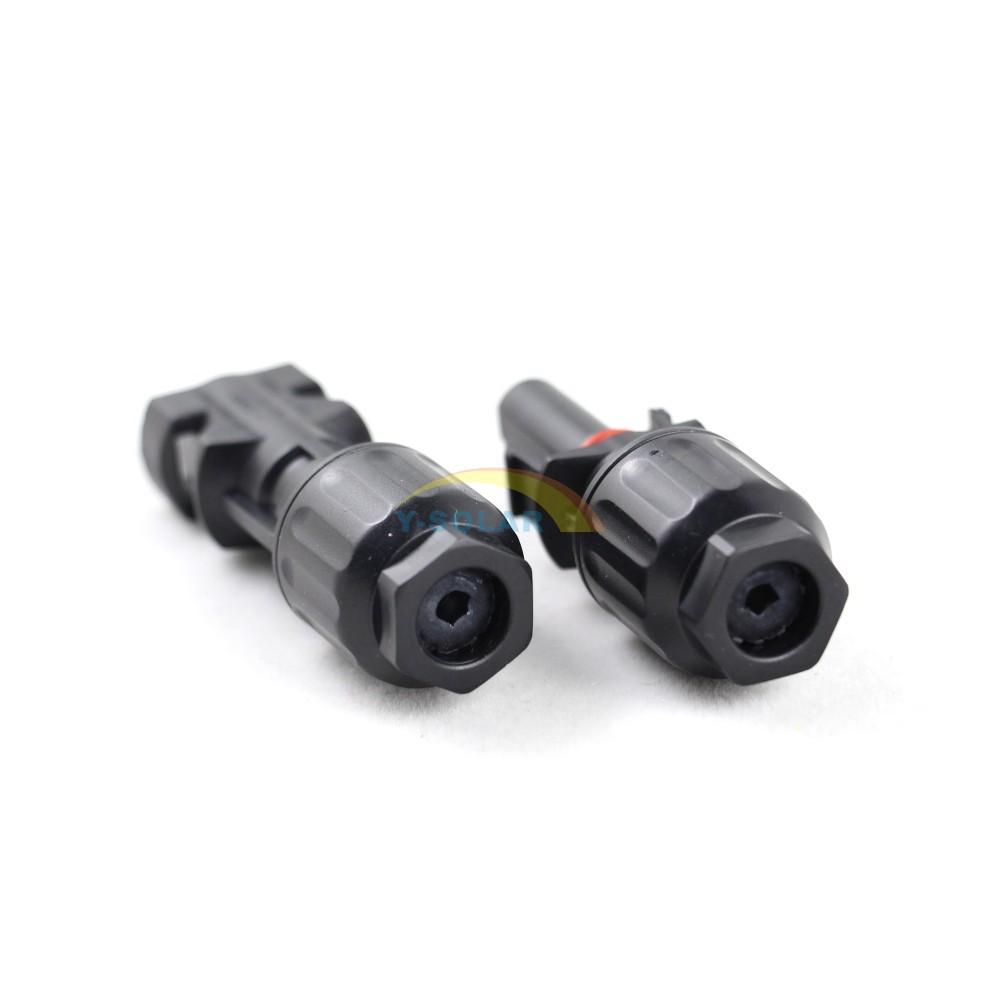 FM T Fil de branchement Câble Connecteur Coupleur 1 paire 30A MC4 M