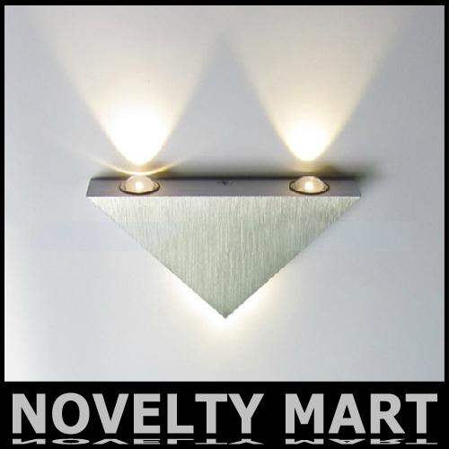 Driehoek muur licht 85 265v led 3w woonkamer slaapkamer
