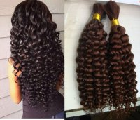 Human Hair In Bulk For Braiding