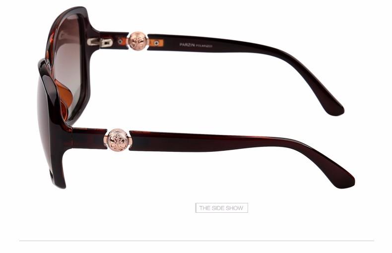4236b3ec4c Parzin perla sol polarizadas mujeres elegantes gafas de sol de moda ...