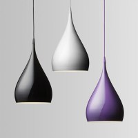 Modern Simple Pendant Lamp Circular Cone Pendant Lights ...