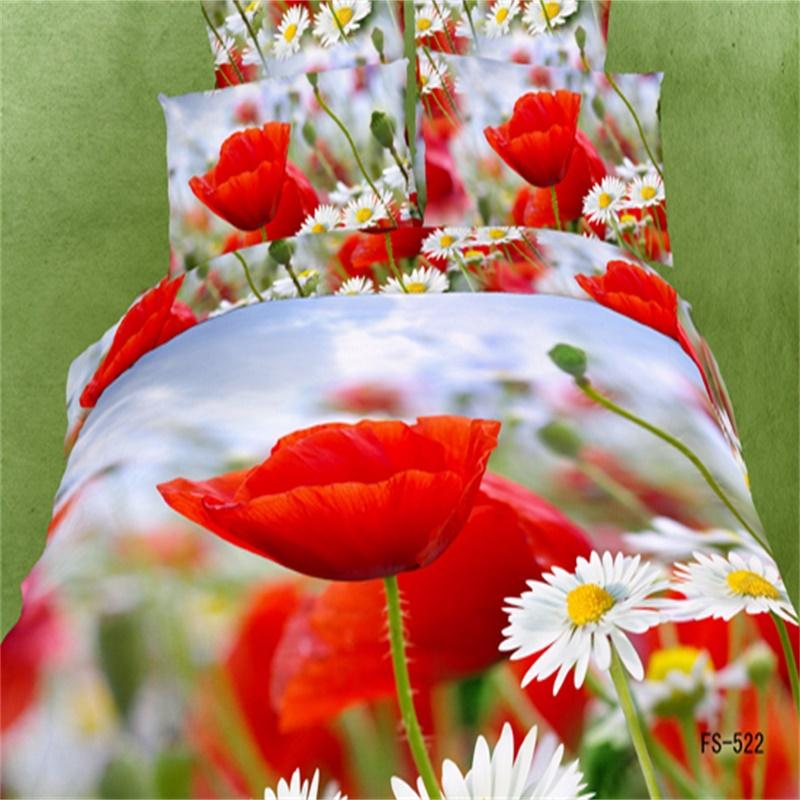 Online kopen Wholesale Rode papaver dekbedovertrek uit