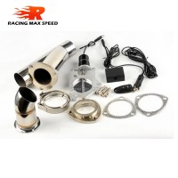 Stainless steel 2.5 inch exhaust pipe electric Y pipe ...