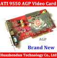 New low end AGP video card from factory NEW original ATI Radeon 9550 256MB DDR2 AGP