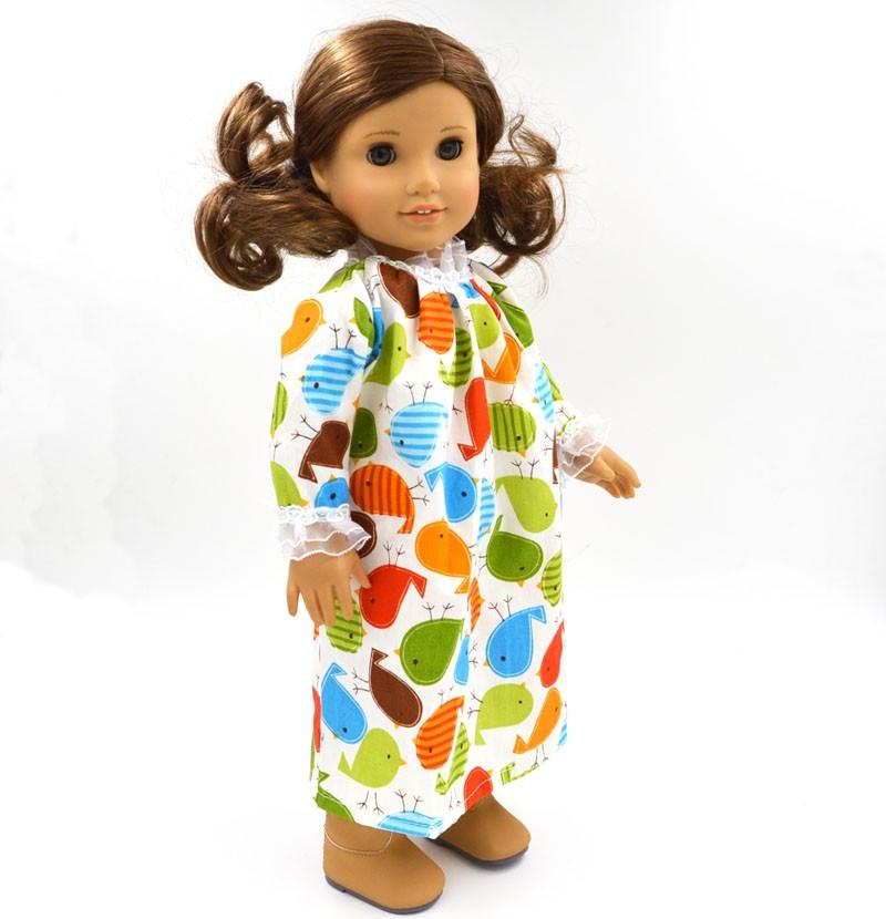 ᗚAmerican Girl Muñecas ropa multicolor impreso Lencería muñeca ropa ...