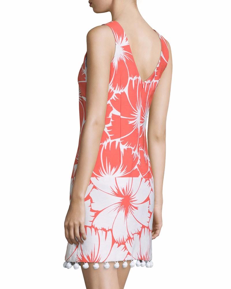 ⊱Lujo mujeres colorblock vestido de impresión sin mangas mini ...
