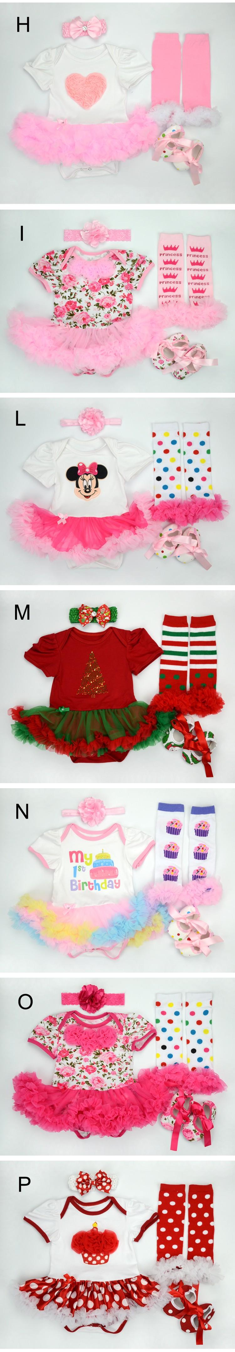 ̀ •́ 0-1 años Niña Conjuntos de ropa infantil vestidos bebe Navidad ...