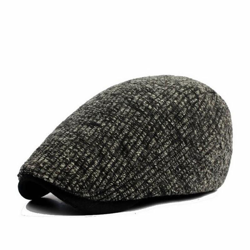 2017 Nuevo algodón Boinas hombres mujeres invierno estilo gorras planas boinas  gorras casquette sombrero ht51157 35 fc13cb268e1