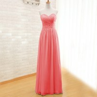 Mint Green And Coral Bridesmaid Dresses - Junoir ...