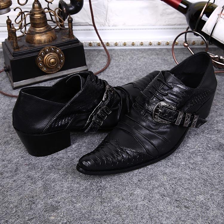 21e7a427 Ntparker/Элитный бренд человека Обувь модные деловые костюмы кожаные ...