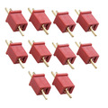 20PCS 10 Pairs Mini T Plug Connectors Adapters for RC LiPo NiMh Battery Free Shipping