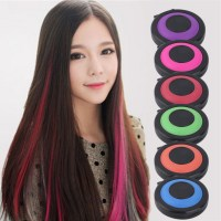 Professional 6 colors Temporary Hair Dye Powder cake ...