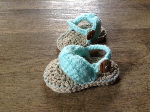 ⑧вязаные детские сандалии для девочек детские сланцы вязание