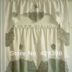 Elegant Kitchen Curtains Valances Cute Decor Aliexpress Buy Simple And