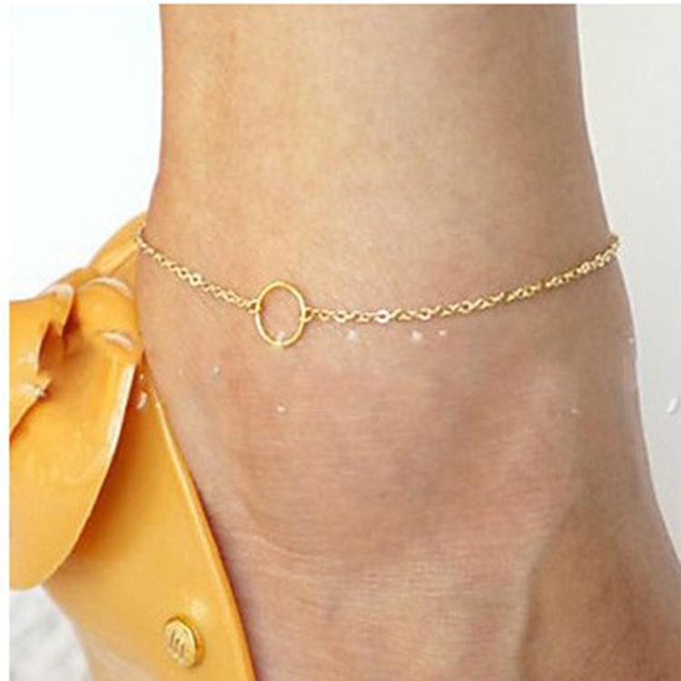 4a365e3bdde7 ... Nueva sexy sandalias playa rhinestone elefante de descalzo cadena  tobillo pulsera pie joyas Tobilleras para las mujeresUSD 0.12 piece