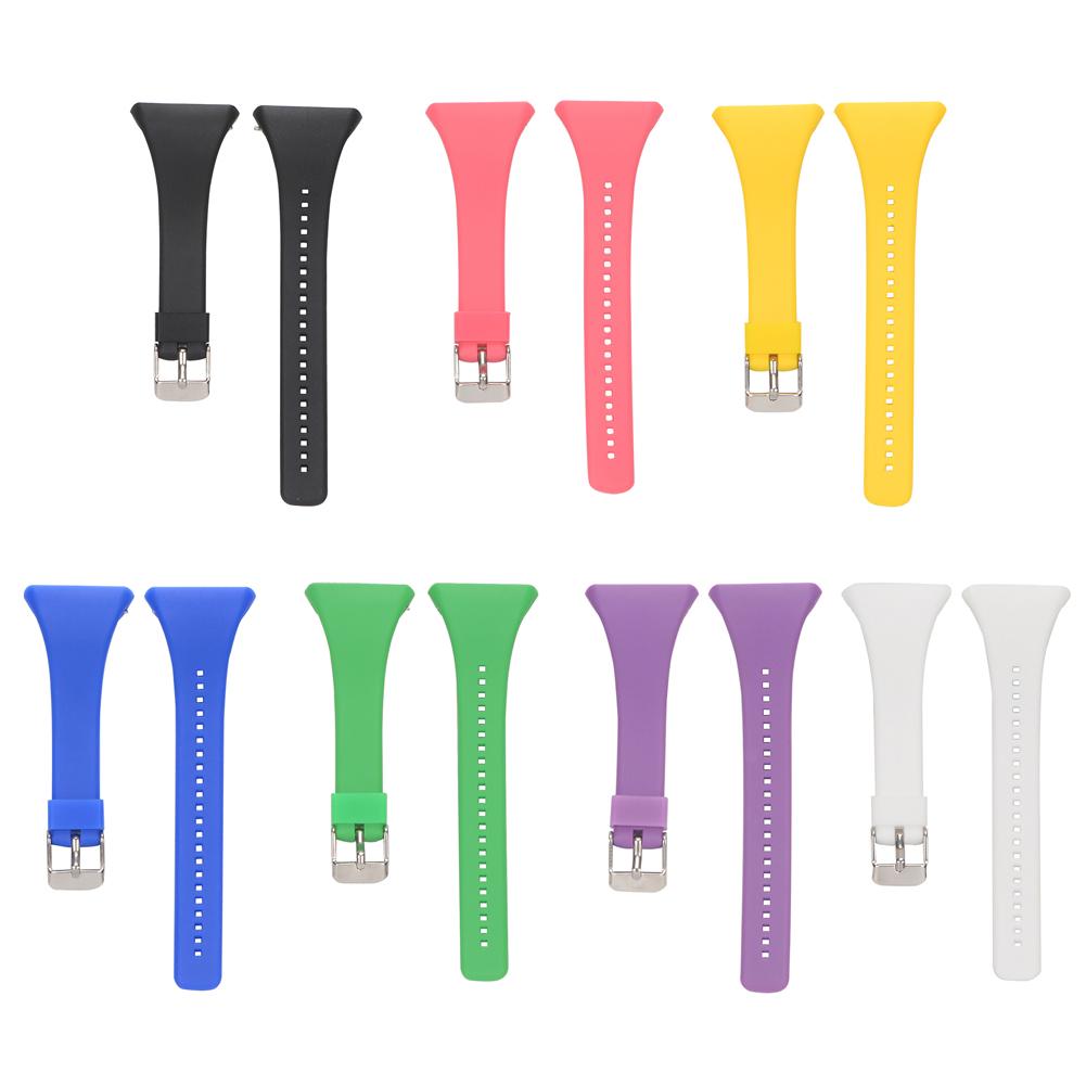 1d8456c1192 Lujo silicona Correas de reloj Correa banda de reloj inteligente para polar  FT4 ft7 serie FT Correa Universal Negro Blanco 7 colores