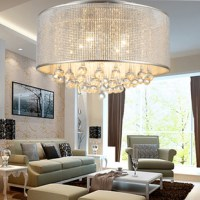 Modern brief ceiling light crystal lighting fitting led