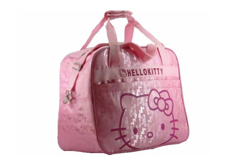 ffe45e62ca3 Pink Hello Kitty Mother Bag Baby Diager Bags Multifunctional Canvas Bolsa  Maternidade Baby Mama Stroller Maternity Bag Travel
