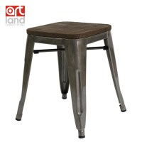 Minimalist modern designer ,vintage wood and Metal Bar ...