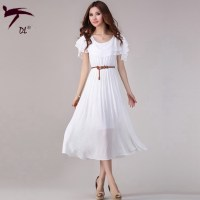 The gallery for --> Long White Casual Summer Dress