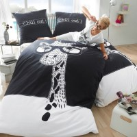 Aliexpress.com : Buy Black and white giraffe bedding set ...
