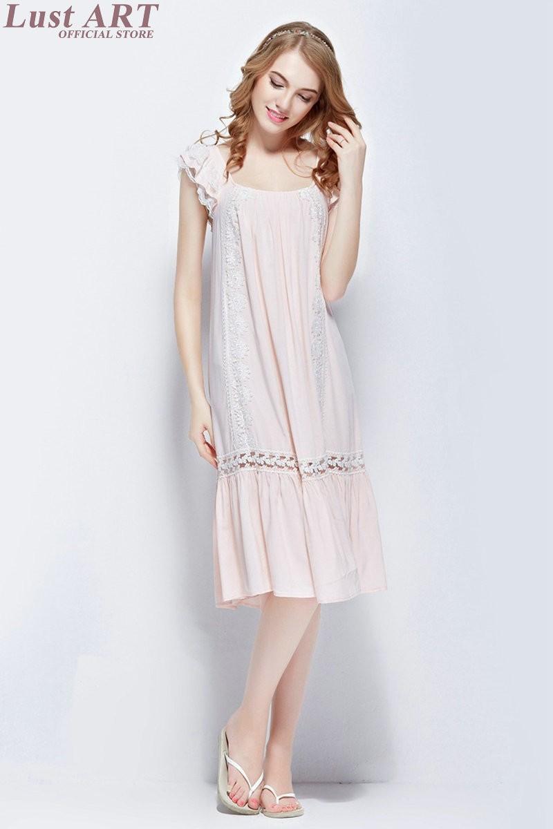 ୧ʕ ʔ୨2016 spring elegant long nightgowns vintage white nightgown ...