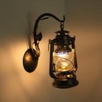 Classical vintage personality lantern wall lamp kerosene ...