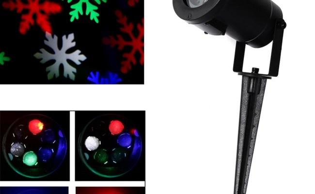 Led Laser Light Sparkling Landscape Projector Waterproof