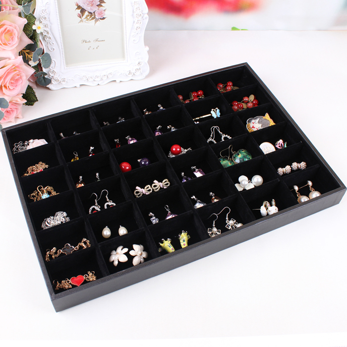 Jewelry set box cosmetics earrings organizer holder hair