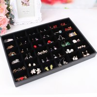 Jewelry set box cosmetics earrings organizer holder hair ...