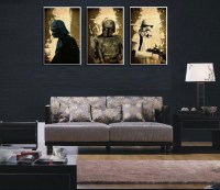 MODERN HUGE WALL ART OIL PAINTING ON CANVAS,Star Wars ...