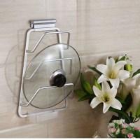 New Aluminum Kitchen Cabinet Door Pot Pan Lid Holder Wall ...