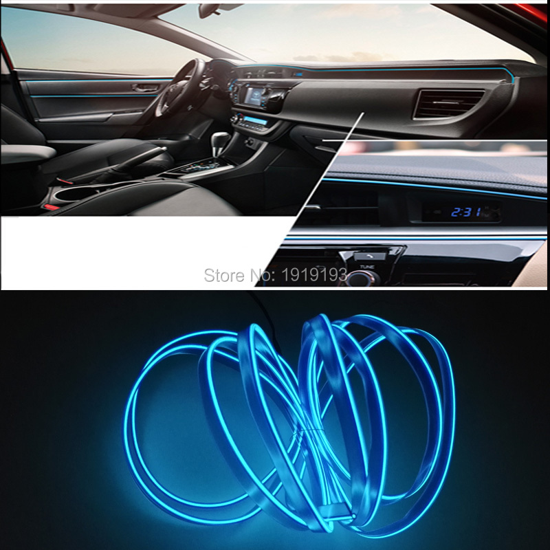 №Fashion Sound Activated For Car Internal Party Decoration 1Meter ...