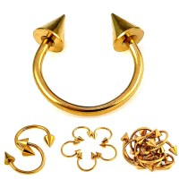 Gold Tongue Rings Promotion
