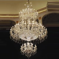 High Traditional Large Crystal Chandelier Great Room ...