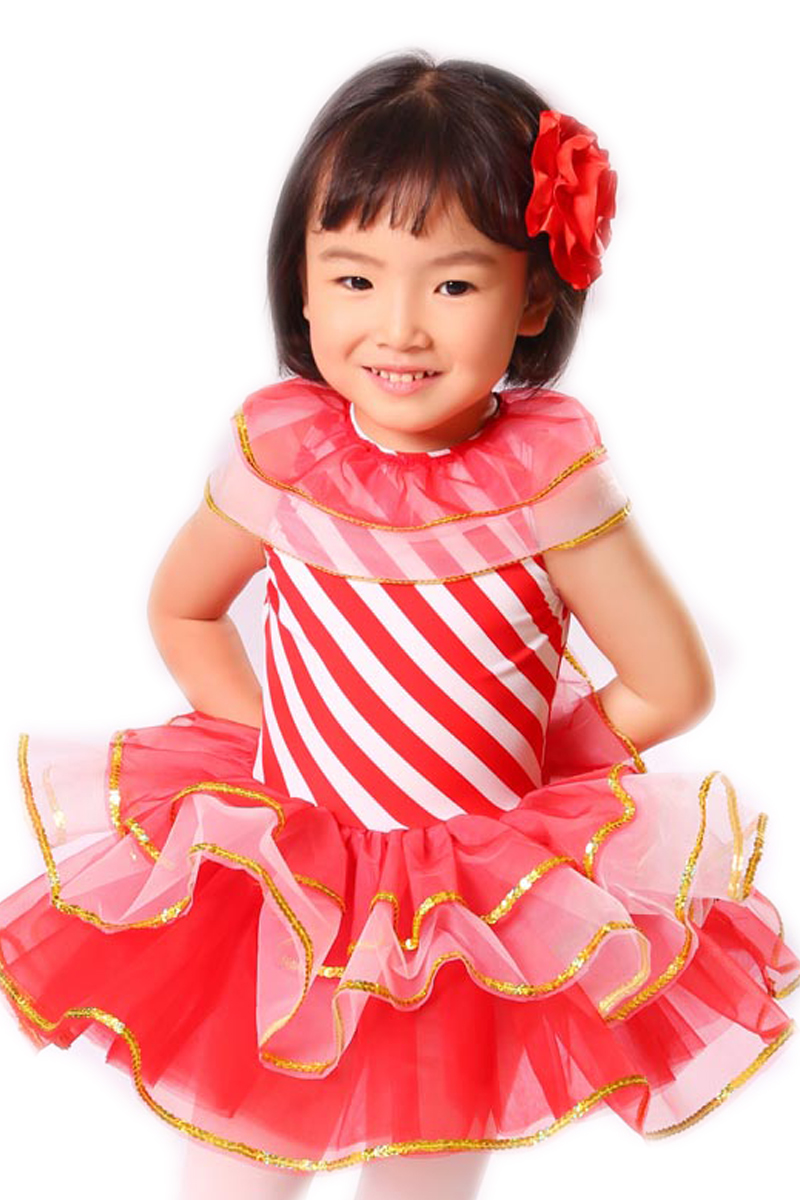 இTraje de la Danza del niño vestido de Navidad rojo Vestidos Otoño ...