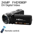 Remote Control 1080P Full HD digital Video Camera 3 0 LCD Touch Screen 24 MP 16x