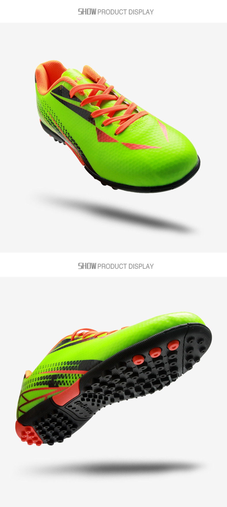 new soccer shoes boots futsal chaussures foot mens indoor football boots voetbalschoenen football cleats soccer shoes 3 colorsusd 35 99 pair  [ 790 x 1764 Pixel ]