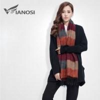 Aliexpress.com : Buy [VIANOSI] Fashion Brand Winter Scarf ...