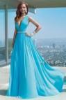 Light Blue Long Dress Cocktail Dresses 2016