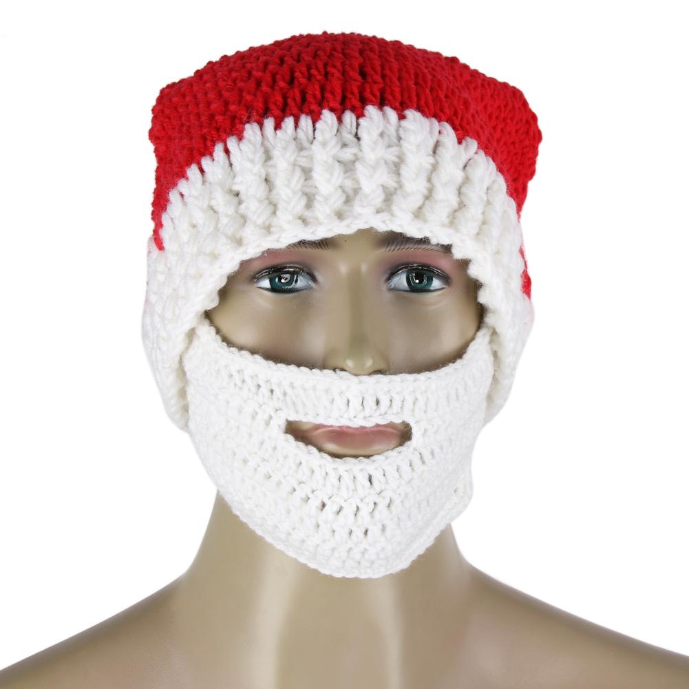 Novedad invierno crocheted los hombres unisex ganchillo hecho a ...