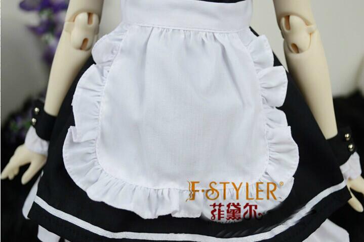 ΞBjd muñeca ropa SD MSD yosd muñeca ropa vestido de uniforme de ...