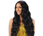 long black wet and wavy indian